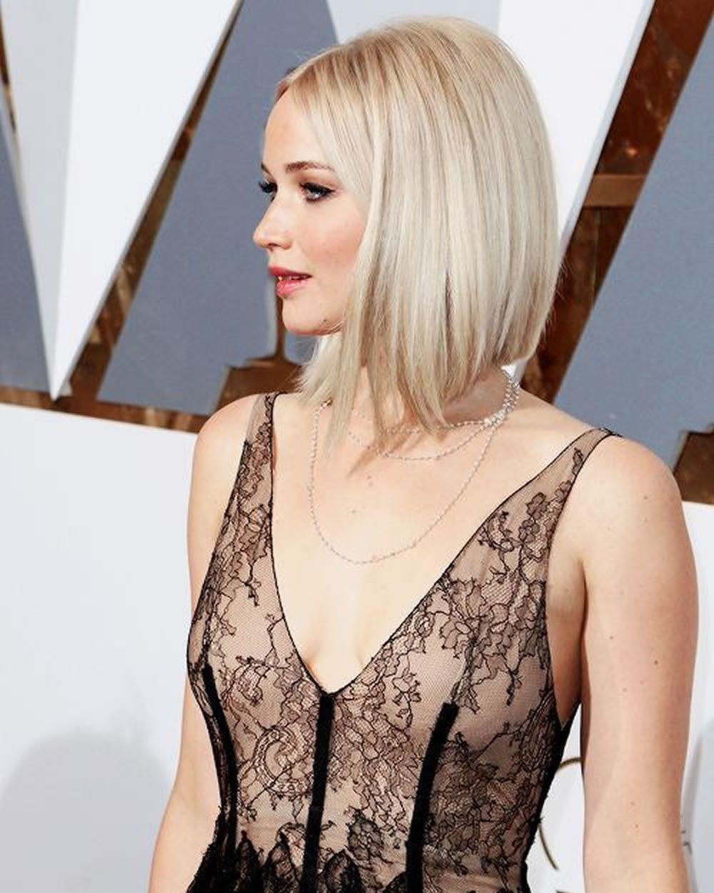 Bob Haarschnitt 2018 Trendy Bob Frisur Designs Im Jahr 2017 Jennifer Lawrence Hair Hair Styles Jennifer Lawrence Blonde