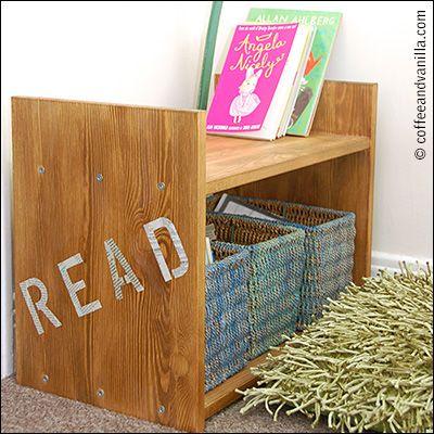 Reading Corner Rast Bedside Table Makeover Ikea Hack Bedside