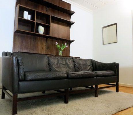 danish 60er design by g thams f r grant mobelfabrik 3er. Black Bedroom Furniture Sets. Home Design Ideas