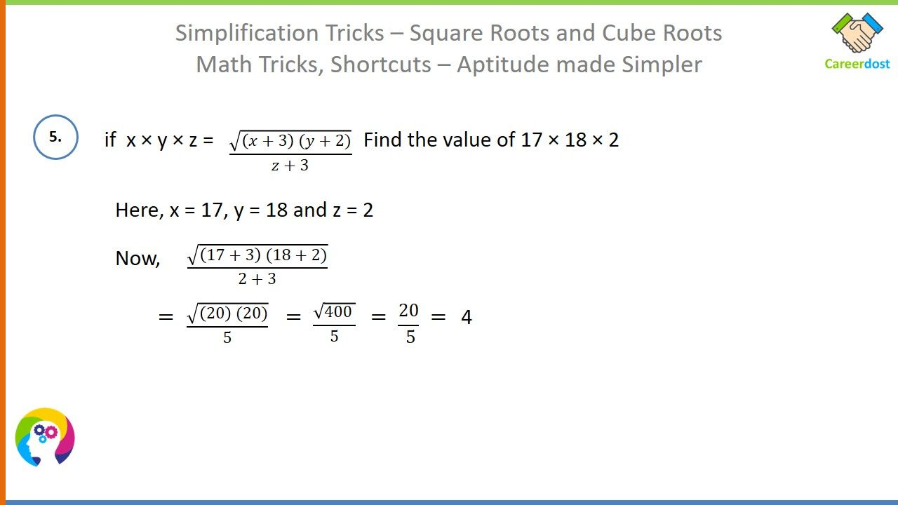 Simplification Tricks Square Roots And Cube Roots Basics Examples Shortcuts Math Tricks Math Tricks Math Square Roots [ 720 x 1280 Pixel ]