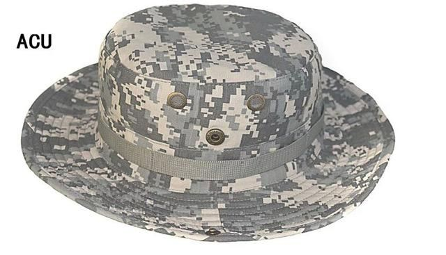 cd7dab86c6dbb SINAIRSOFT Tactical Airsoft Sniper Camouflage Boonie Hats Nepalese Cap  Militares Army Mens American Military Accessories Hiking