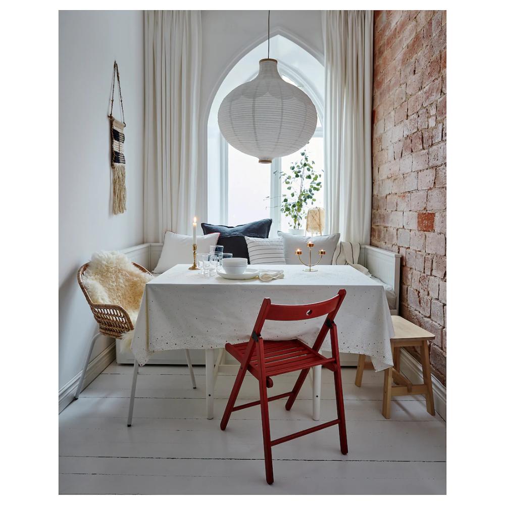 RISBYN Taklampskärm - lökformad, vit 11 cm  Ikea, Inredning och