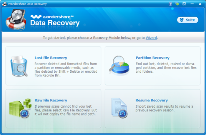 download wondershare data recovery keygen