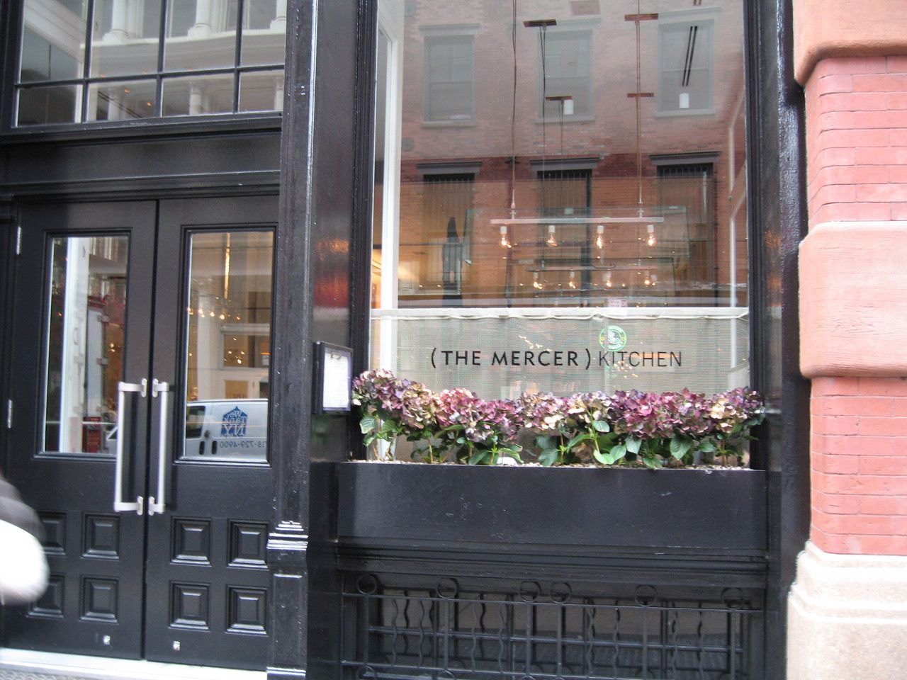 mercer kitchen nyc possible lunch or dinner place for. Black Bedroom Furniture Sets. Home Design Ideas