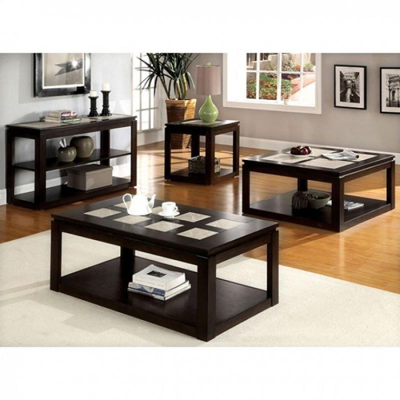 Furniture Of America Verona 3 Pc Occasional Table Set Coffee