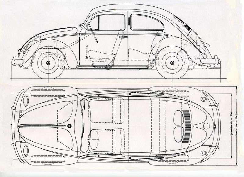 Oval blueprint maquinas pinterest vw volkswagen and beetles oval blueprint malvernweather Images