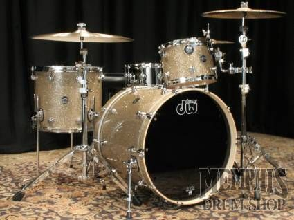 Dw Performance Maple Series Drum Set Vintage Sand Glass With
