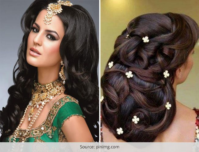 Beautiful Bridal Hairstyles : Top 10 most beautiful indian wedding bridal hairstyles for short