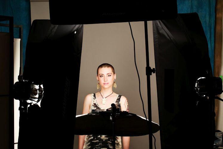 Photography  sc 1 st  Pinterest & The lighting setup for Peter Hurleyu0027s portrait shoot with Alex. 1 ... azcodes.com