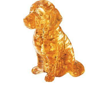 Beautiful 3d Puzzle That Is Challenging And Fun Game Searches 3d Crystal Diy Crystals Dog Puzzles