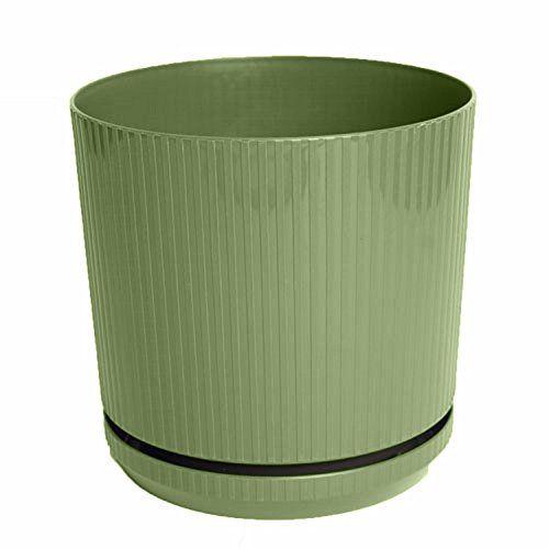 Bloem CP1042 Cetara Planter, 10-Inch, Living Green