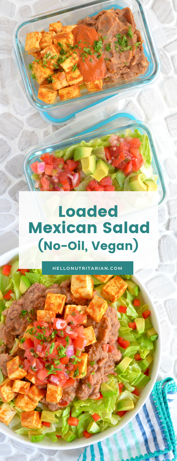 Eat To Live Mexican Salad