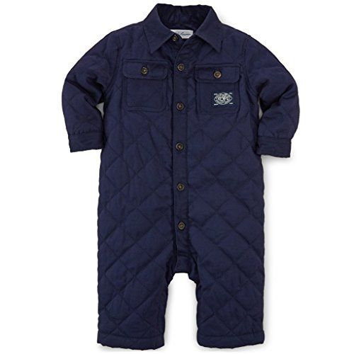Ralph Lauren Baby Boys Quilted Cotton Twill Coverall