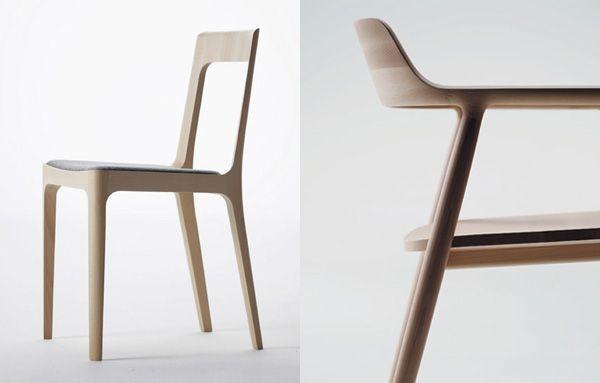 Naoto Fukasawa for Maruni - Hiroshima Chair and Arm Chair