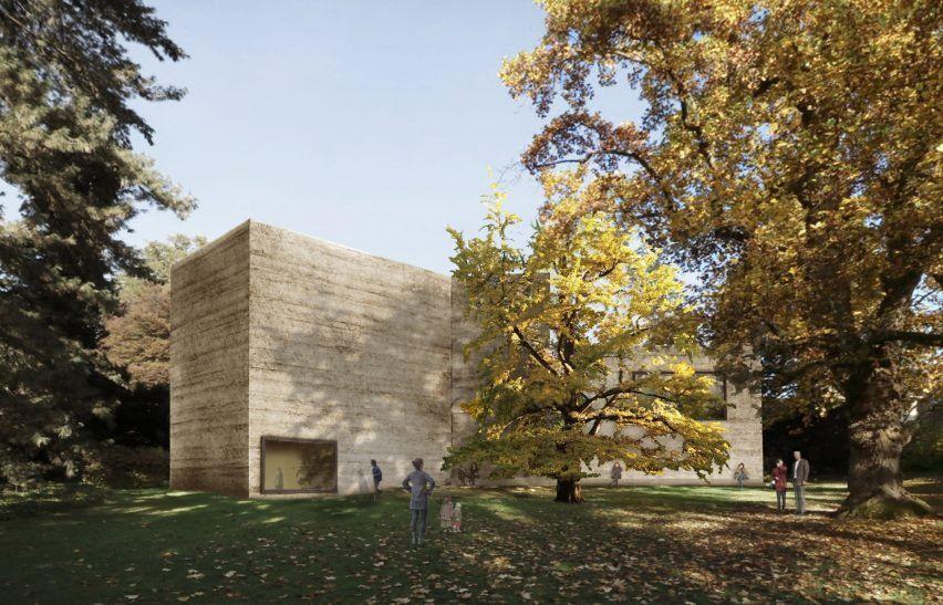 Atelier Peter Zumthor's extension for Fondation Beyeler