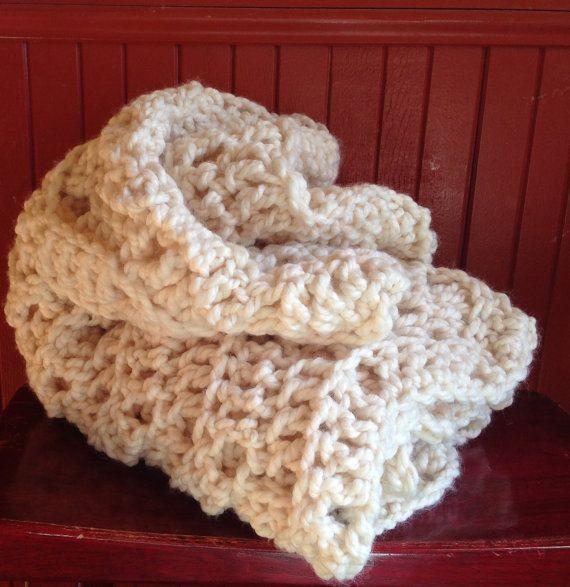 Chunky Crochet Pattern Fanciful Chevron Stitches por Stolenhook
