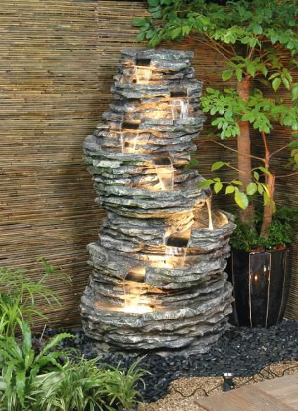 8 Pool Rock Fountain Water Feature Garden Water Fountains Water