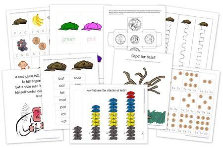 Caps For Sale Printables Free Printables Caps For Sale Educational Freebies Preschool Printable