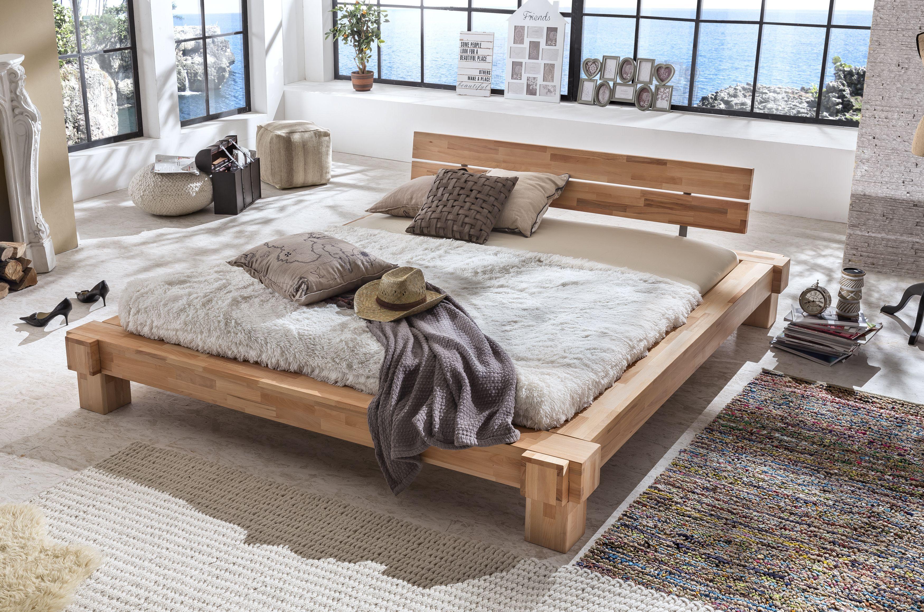Massivholz Möbel online kaufen Doppelbetten