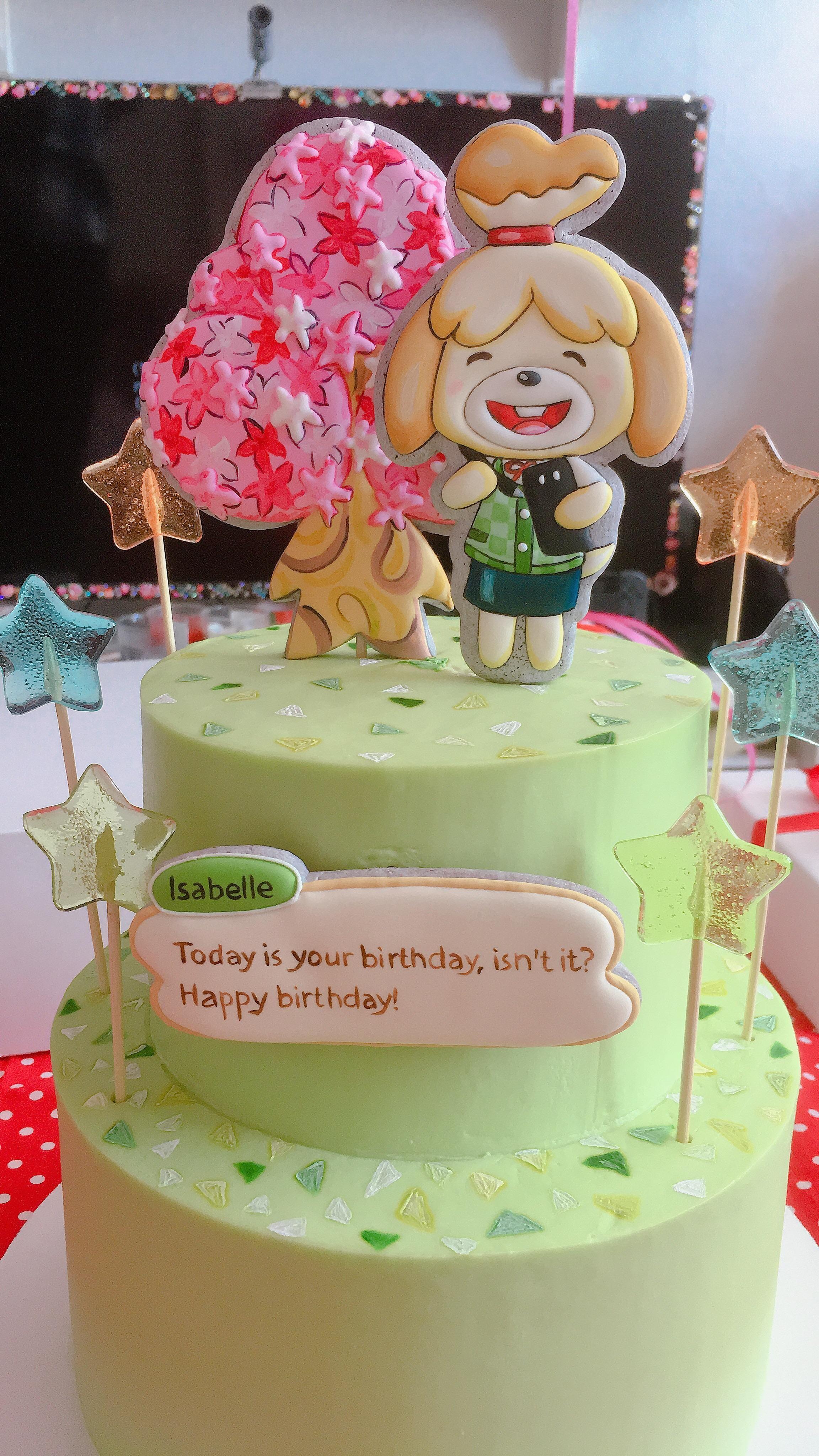 Excellent Animal Crossing Birthday Cake Animal Crossing Memes Animal Personalised Birthday Cards Veneteletsinfo