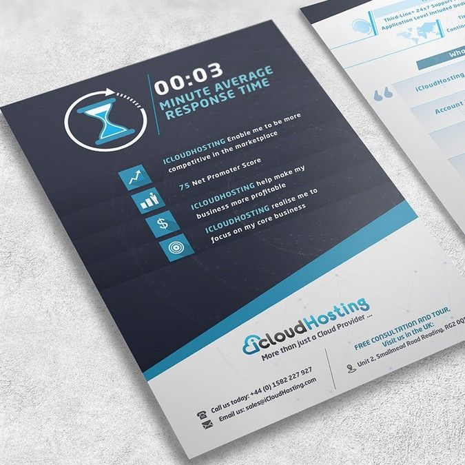 Redesign one page leaflet for print and PDF by Tochka Design