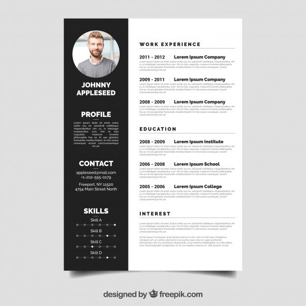 Download Elegant Resume Template For Free Resume Template Free Resume Template Resume Design Template