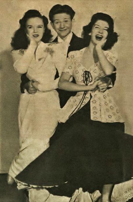 Gloria Jean,Donald O'Connor and Peggy Ryan