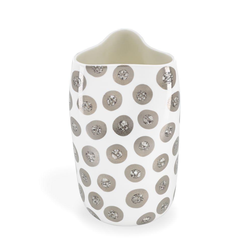 Michael Wainwright Tempio Luna Platinum Pinched Vase