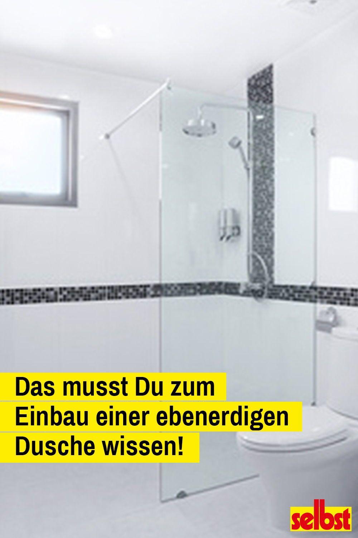 Die Zeiten Der Geschlossenen Duschkabine Sind Gezahlt Duschen Werden Immer Grosser Und Offener Bodengleiche Dusch Dusche Renovieren Dusche Einbauen Dusche