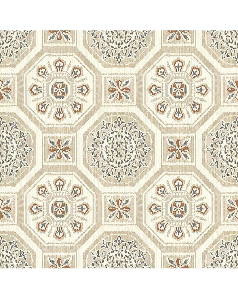 Arthouse Brasillia Wallpaper Neutral wallpaper