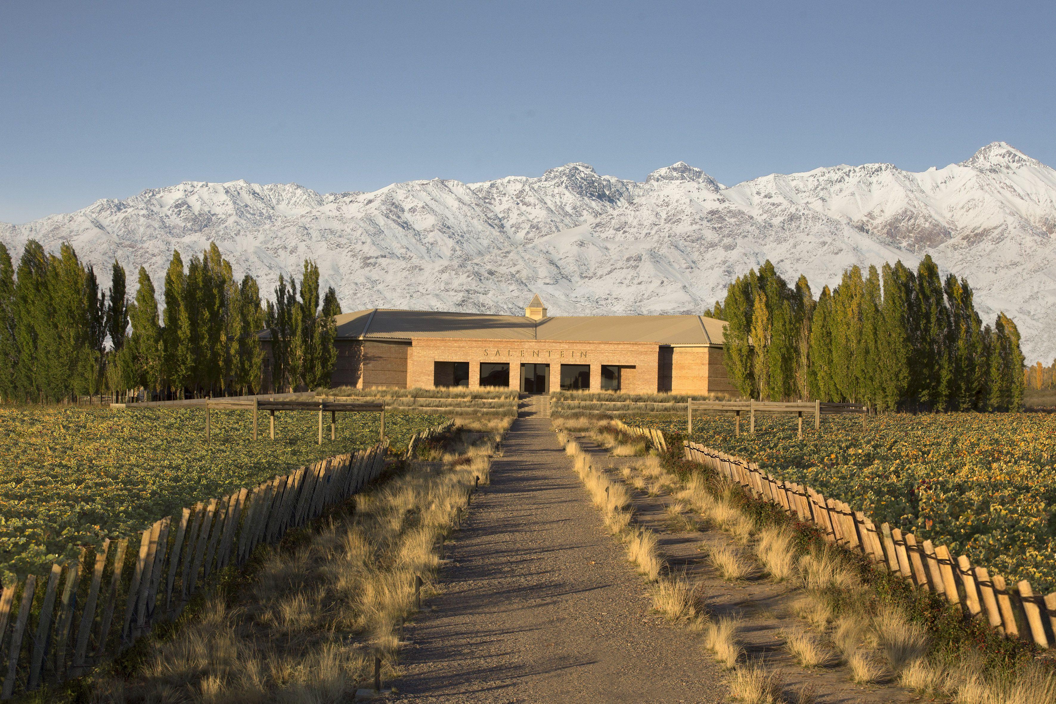 Bodega Salentein Valle De Uco Mendoza Argentina Com Imagens