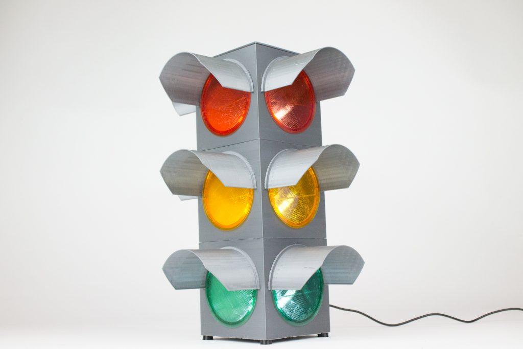 Traffic Light Learn Colorfabb Traffic Light Light Multi Material