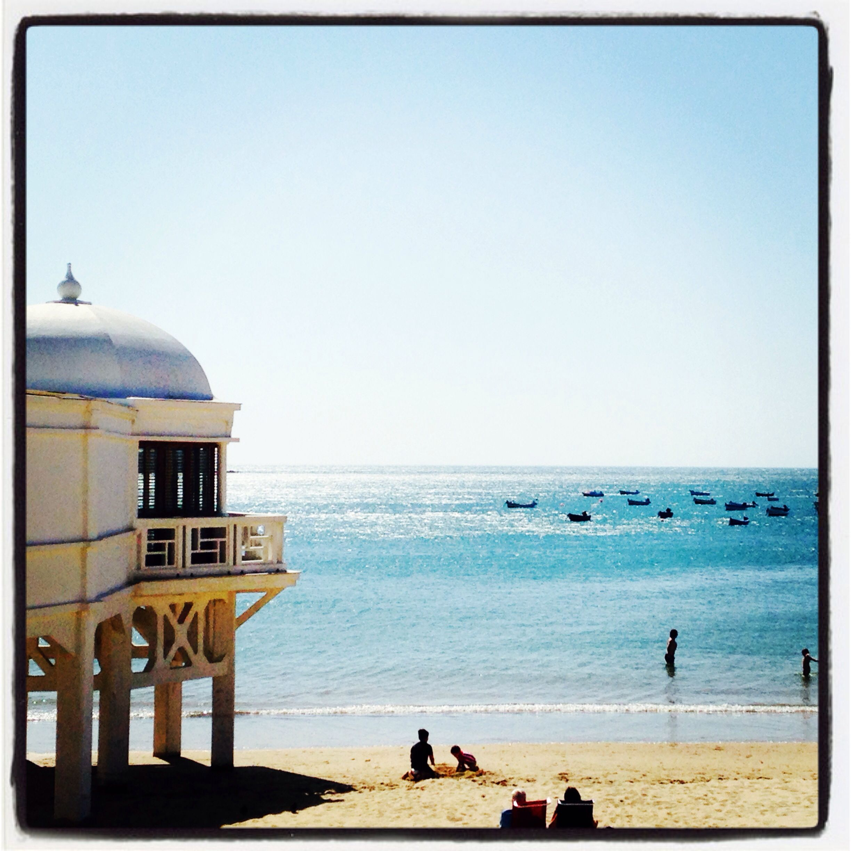 Playa La Caleta (Cádiz, Spain)