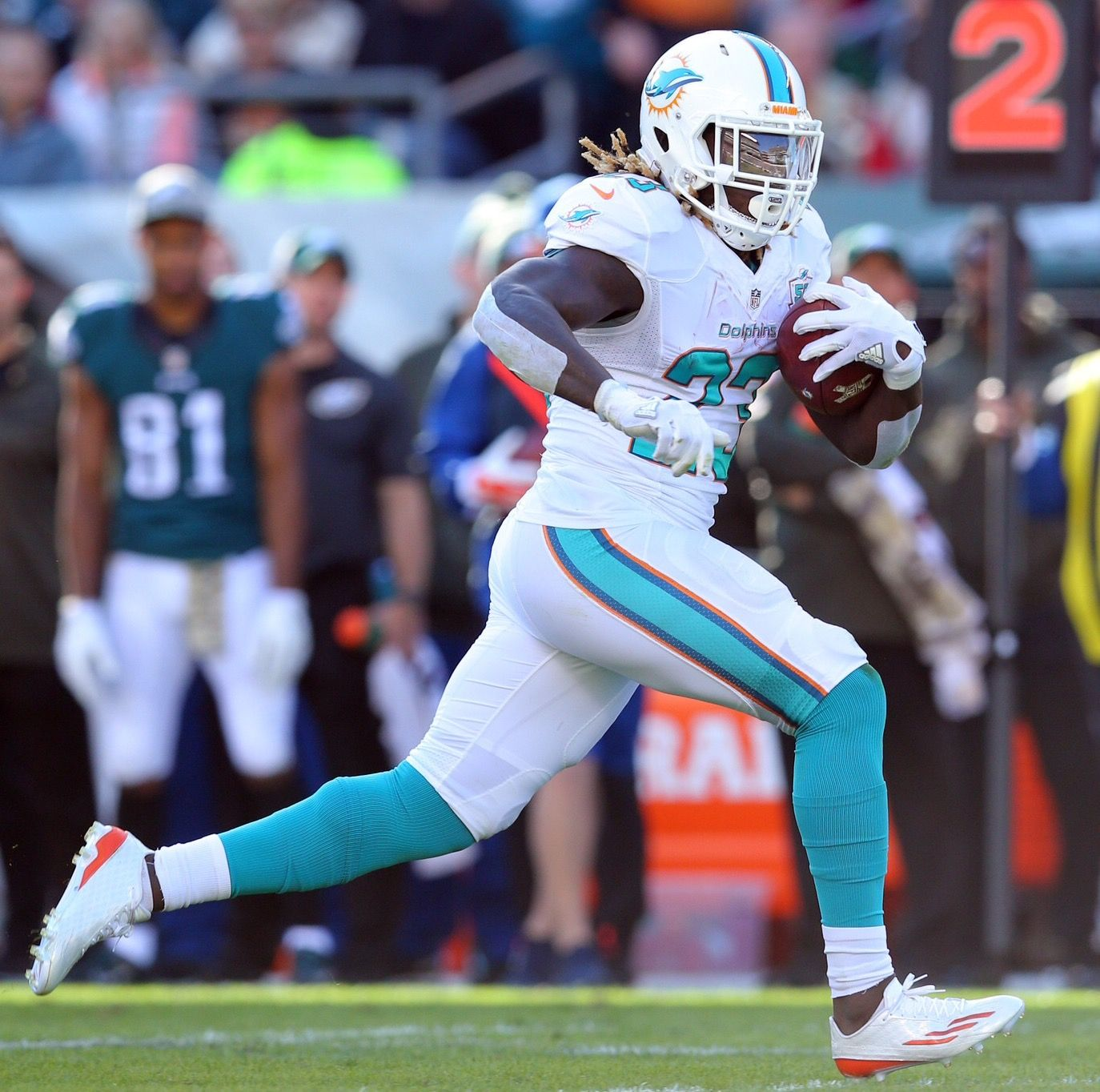 Jay Ajayi Miami Dolphins Pinterest