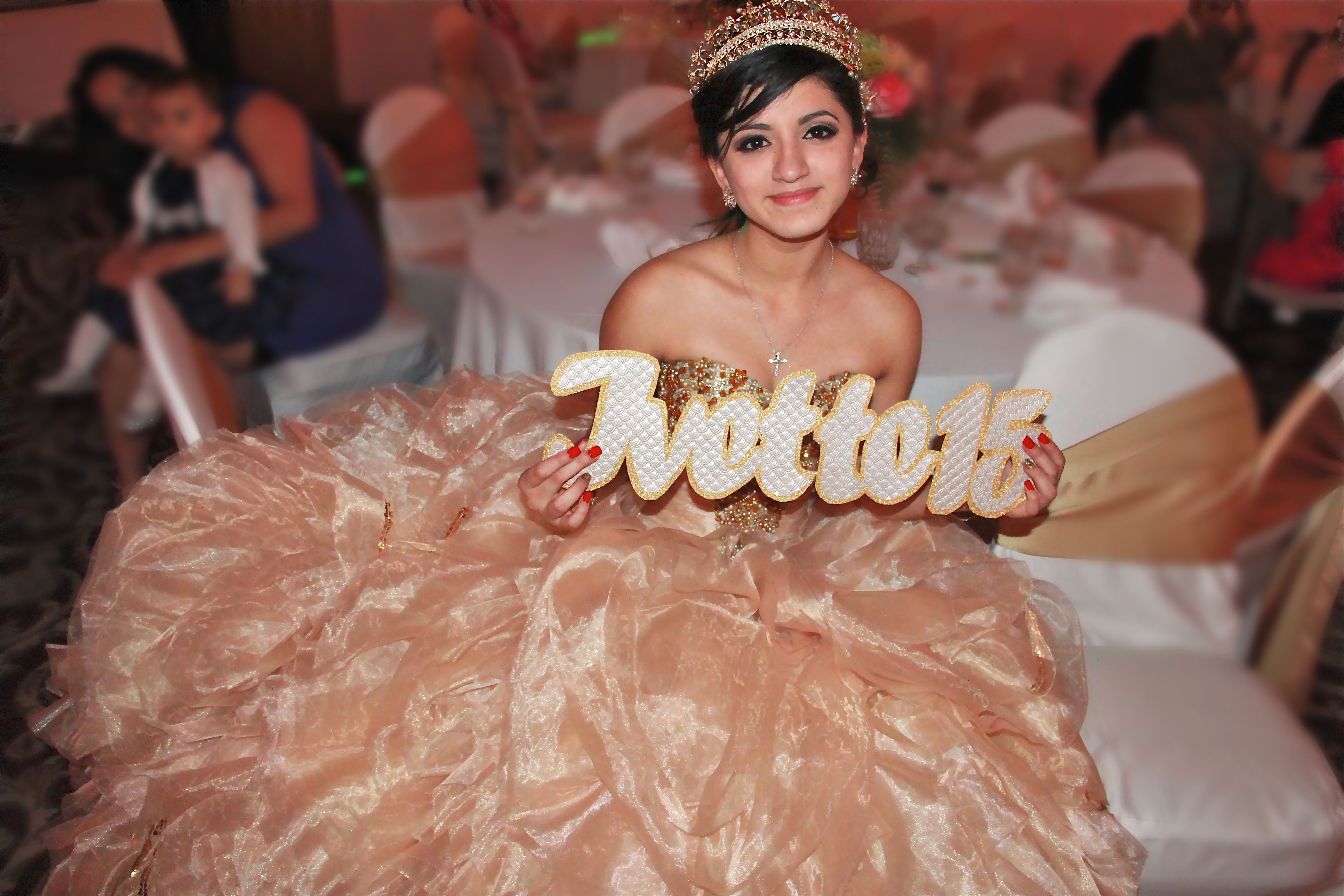 Personalized Quinceañera Sign IV