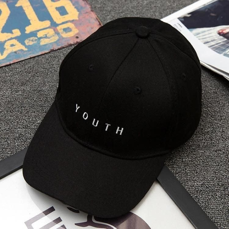 bec24b2a11d youth letter embroidered caps lover men women baseball cap snapback hat  black white sunhat gorras Valentine s Day hombre mujer