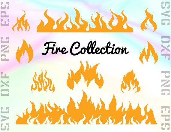 Flame svg. Fire files clipart flames