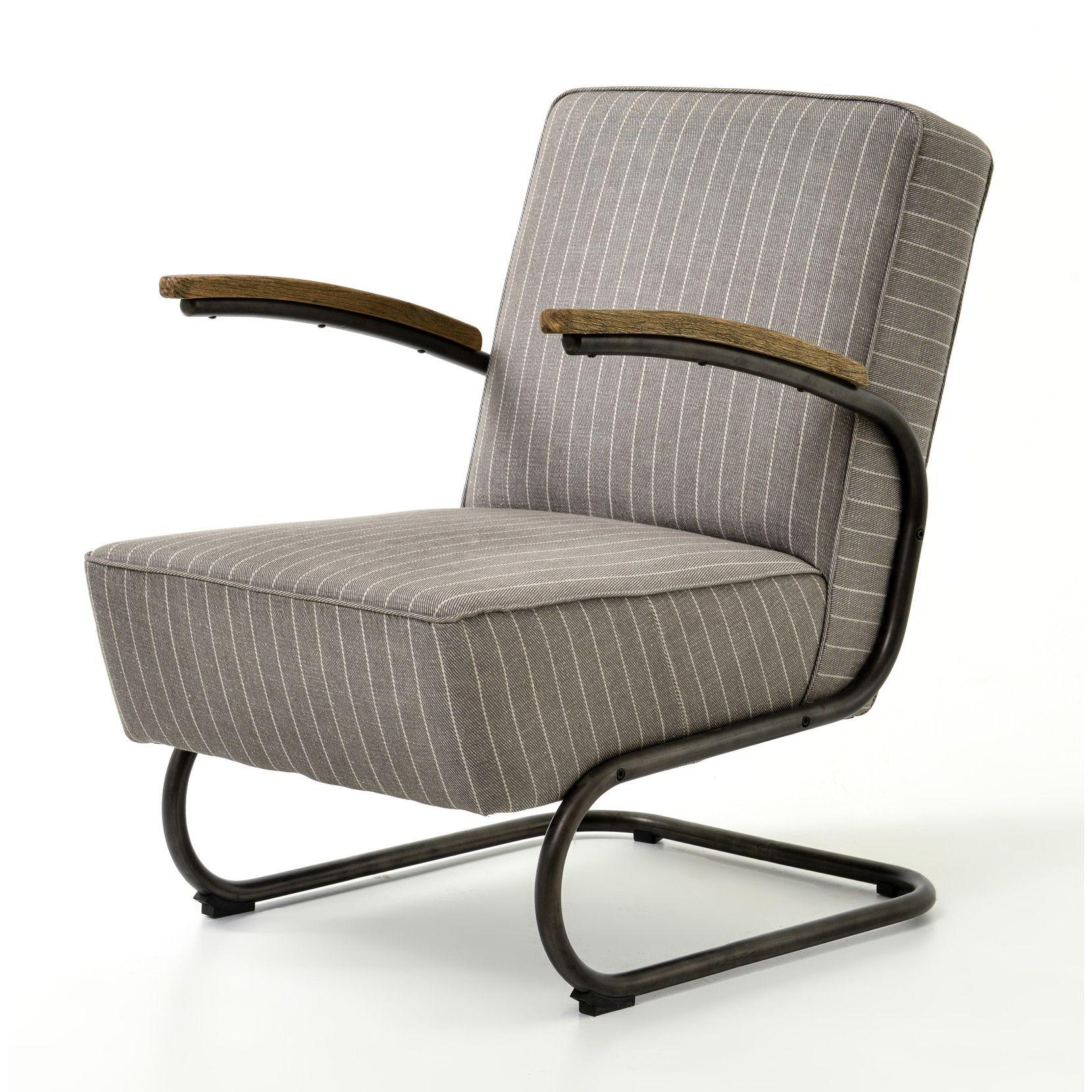 Captivating DCOR Design Miles Stripe Arm Chair