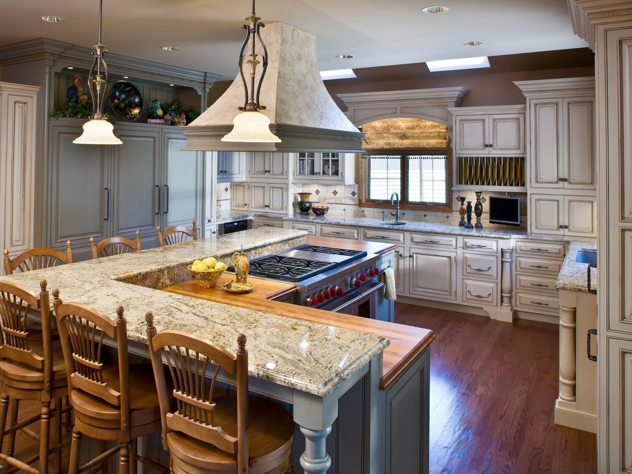 Kitchenlayouttemplates6Differentdesignshgtvpertainingtol Adorable L Shaped Kitchen Island Inspiration