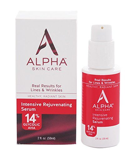 Alpha Skin Care Intensive Rejuvenating Serum With 14 Glycolic Aha 2 Fluid Ounce You Can Fi Skin Brightening Cream Products Skin Care Serum Dry Skin On Face