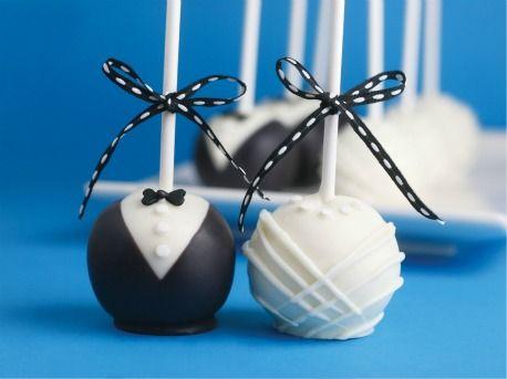 Diy Weddings Bride Groom Cake Pops Wedding Cake Pops Wedding Favors Cake Pops