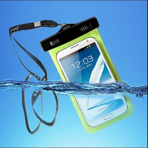 """5.8 """"화면 터치 방수 가방 case 커버 iphone 7 5 s se 6 6 초 플러스 samsung galaxy s7 edge s8 s6 s5 s4 주 5 4 3 neo a7 A8"""