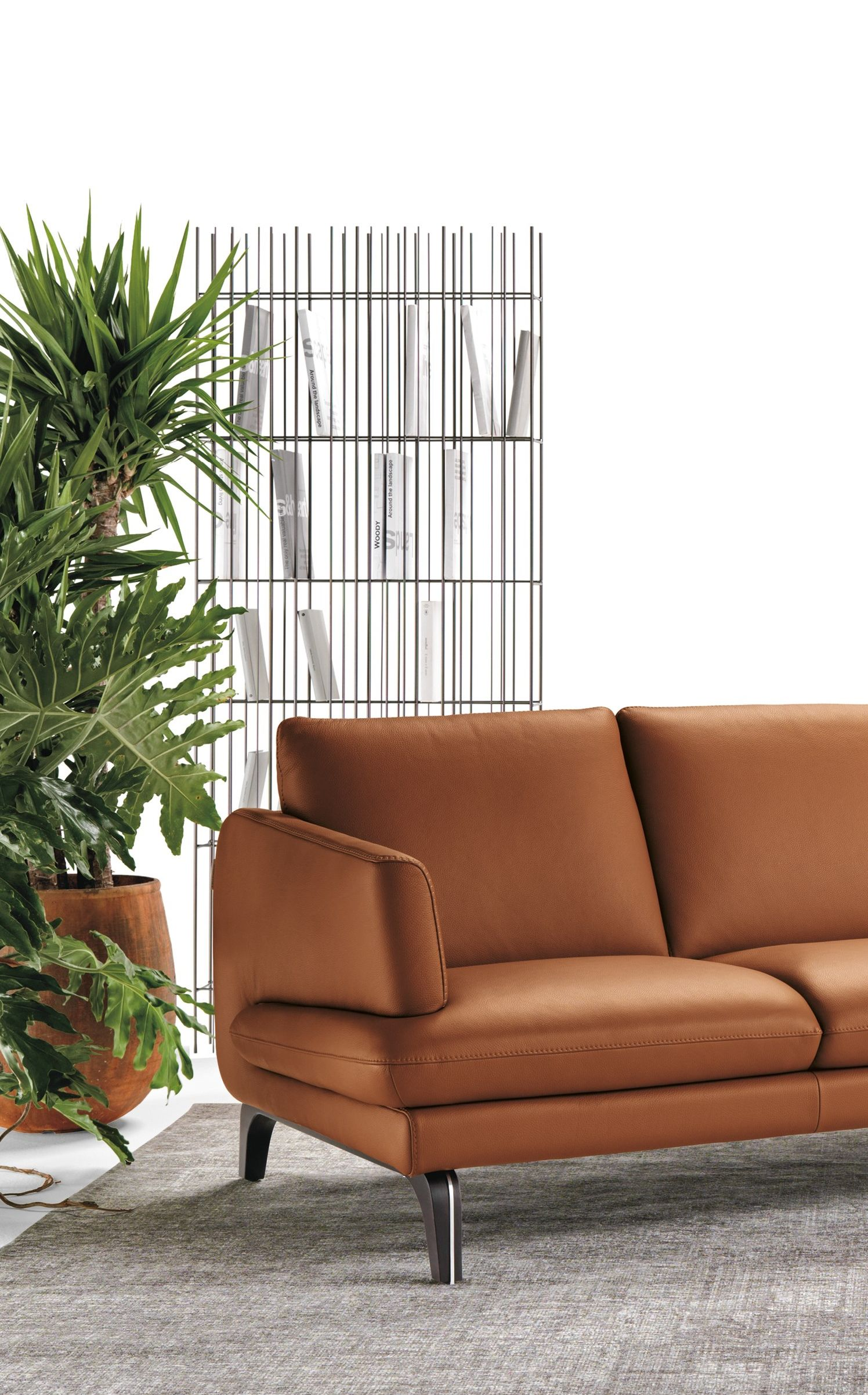 ESPRIT, 3 seater leather sofa | Chairs, Sofas & Armchairs| DESIGN in ...