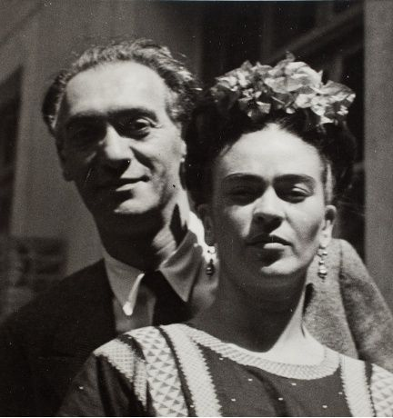 Nickolas Muray and Frida Kahlo, (1939). #Vintage