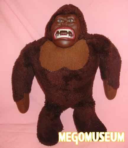 Plush King Kong toy 1976
