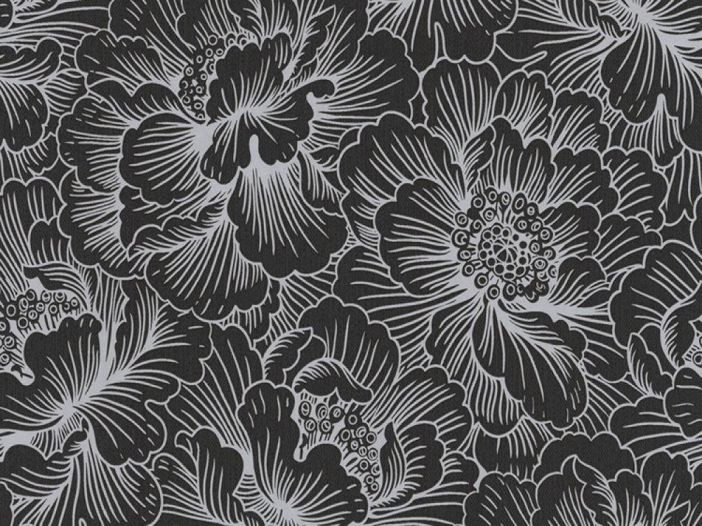 Black Wallpaper Uk 2019 Black Wallpaper Floral Prints Black Paper
