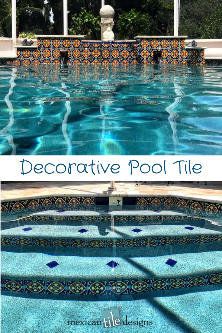 Use Decorative Pool Tiles To Accent Your Design