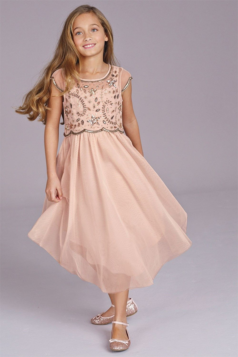Girls Dresses Online - 3 to 16 years - Next Pink Vintage Dress ...