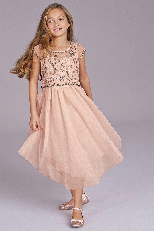 Next online party dresses - Girls Dresses Online 3 To 16 Years Next Pink Vintage Dress Ezibuy Australia