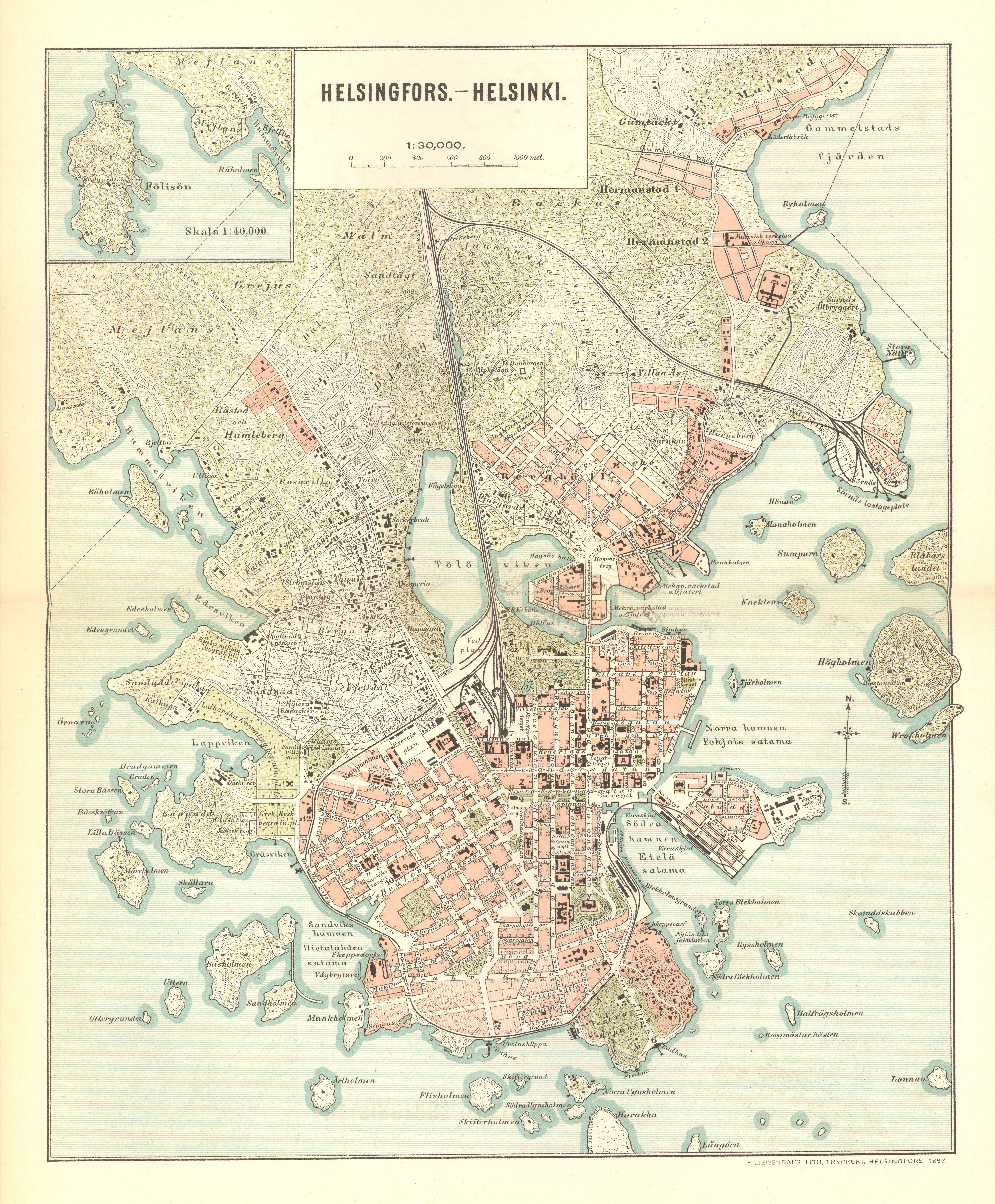Suomen Rataverkko 1939